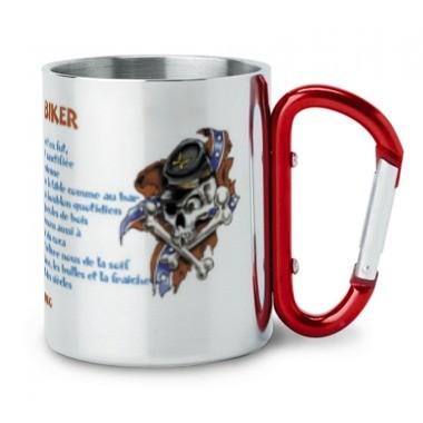 mug inox personnalisé la prière du biker en vente sur sublimatex