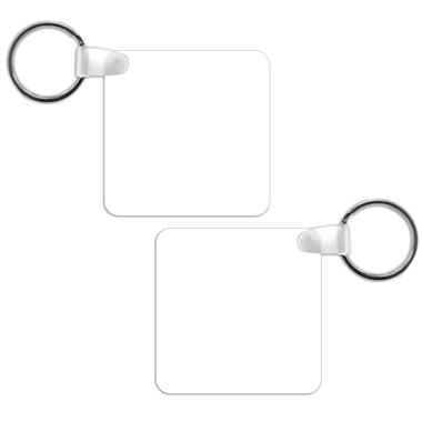 porte clé carré à personnaliser recto verso selon vos envies sur sublimatex situé dans le gard